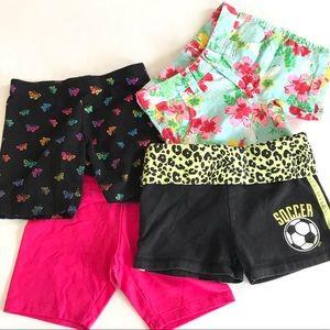 ⭐️3/$10⭐️ Girls Size S 6 Shorts Bundle